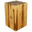Wooden Teak Hollow Block