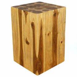 Rectangle Wooden Teak Hollow Block