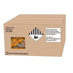 Battery Corrugated Box