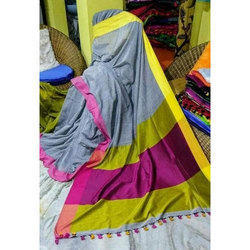 Casual Wear Linen Saree