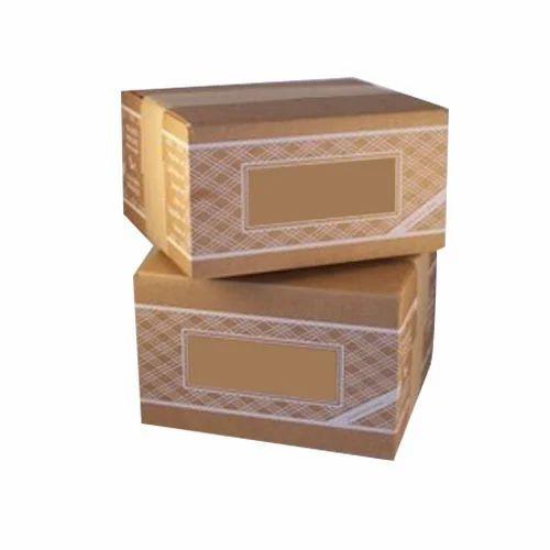 Duplex Printed Corrugated Boxes