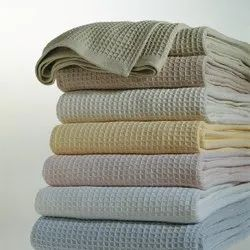 Waffle Cotton Blankets