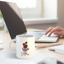White Customized Mugs
