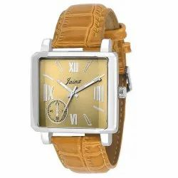 Jainx Analog Brown Dial Men's Watch JM106