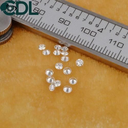 CDL Fineshine Natural Round Brilliant Cut Diamond CDLRB537, Size: 0.90  to 1.25 mm