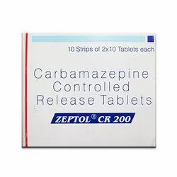 Carbamazepine Zeptol Cr 200 Tablets