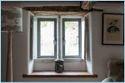 Powder Coated Hinged Metallic Aluminium Window, For Home, Office Etc