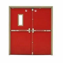 Metal Hinged Fire Safety Door