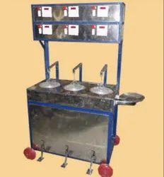 KHR-3P Pedal Type Khakhra Roasting Machine