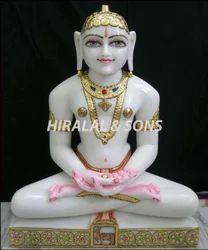 White Marble Bhagwan Murti