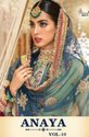 Shree Fab Anaya Vol-10 Elegant and Attractive Look Beautiful Salwar Suits