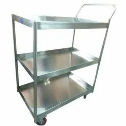 SS Vegetable Rack Trolley