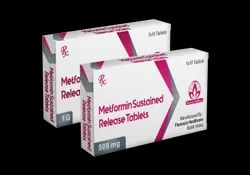 Metformin Sustained Release Tablets 500mg/1gm