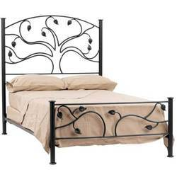 delightful victorian bed of new king wrought iron lamps size uptodate frame nightstands