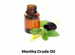 Pure Mentha Crude Oil