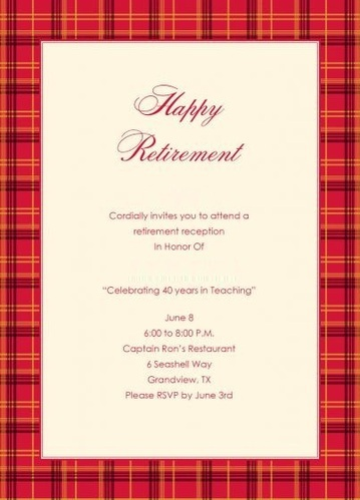Retirement Invitation Cards Manufacturer From Delhi