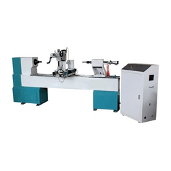 CNC Wood Working Lathe Machine