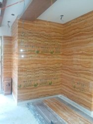 Printed PVC Marble Sheet, Thickness: 2.4 mm, Features: Waterproof