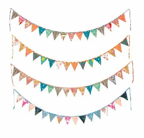 Cotton Bunting Wall Decor