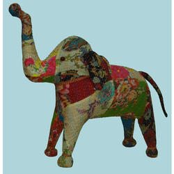 Kantha Elephant Stuff Toy