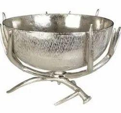 Aluminium Antler Serving Bowl