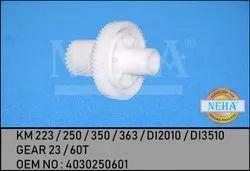 Gear 23 / 60T  KM 223 / 250 / 350 / 363 / DI2010 / DI3510  OEM NO  4030250601