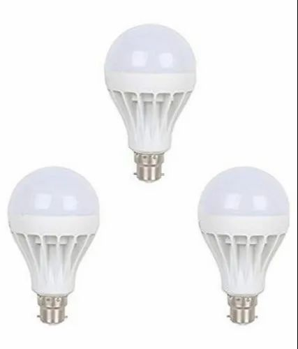 3w CE 3watt Diode Light Bulb Plastic Type, Base Type: B22