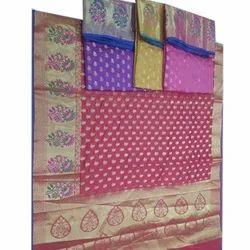 Multicolor Wedding Wear Ethnic Silk Saree