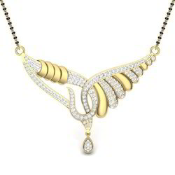 Indian Jewellery Diamond Mangalsutra