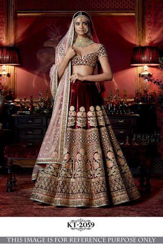 Women's Clothing Other Women's Clothing Bridal Lehenga Choli Indian Ethnic Wedding Wear Lengha Chunri Lahanga Velvet