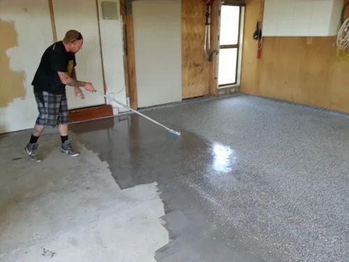 Epoxy Concrete Floor Coating Service Rajesh