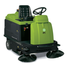 HINDUSTAN Small Ride On Battery Operated Industrial Sweeper Machine