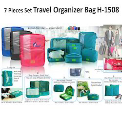 7 Pieces Travel Organizer Bag H-1508