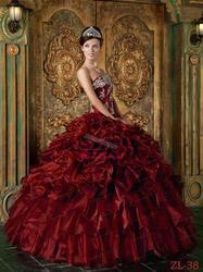 Western Wedding Colour Ball Gowns