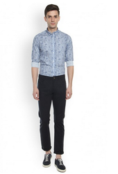 Blackberrys Double Cloth Navy Slim Fit Chinos