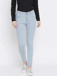 Women Cotton Lycra Jeans