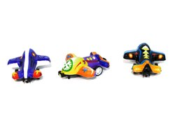 Multicolor Printed Pull Back Plane, Packaging Type: Bopp Bag