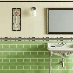 Plain Parrot Color Bathroom Tile