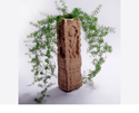 棕色大理石装饰小矮人,室内装饰