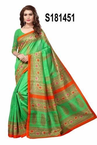 96ffa9a8454 Silk Multicolour Bhagalpuri Sarees