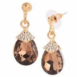 Fashion Brass Earring, Packet