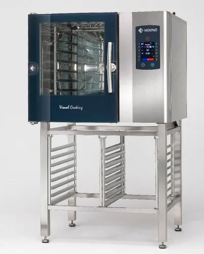 Stainless Steel C 1.06E Combi Oven ( Electric ), Capacity: 6 Tray