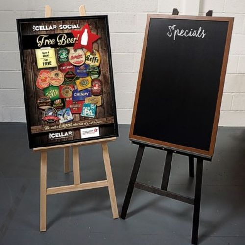 Well-known Wooden Chalkboard Stand, | SK Vishwakarma in Wakanpada Road, Vasai  XA41