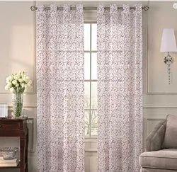 52 x 60 inch Chiya China Red Sheer Curtain