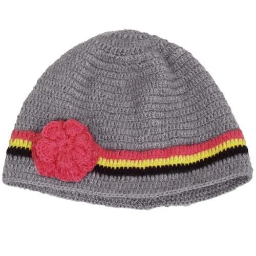Grey Stylebond Womens Crochet Cap 934267ea6