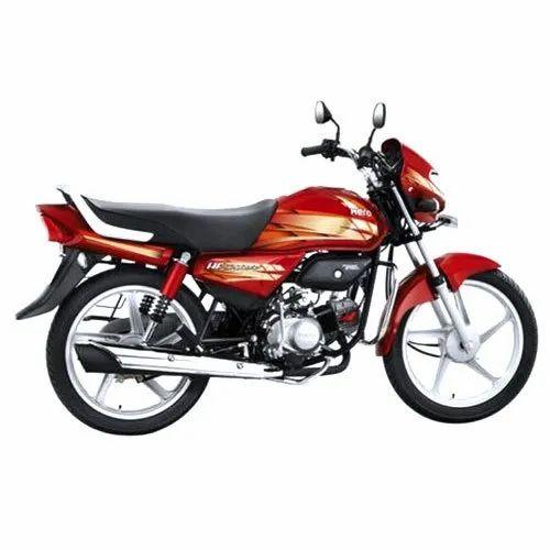 Red Hero Hf Deluxe Motorcycle At Rs 72200 Piece Hero Bike Id 22079889812