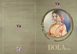 Dola Silk Tussar Art Silk Saree By Yadu Nandan Fashion