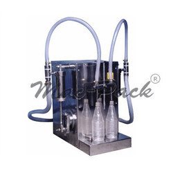 Semi Automatic Bottle Filling and Capping Machine