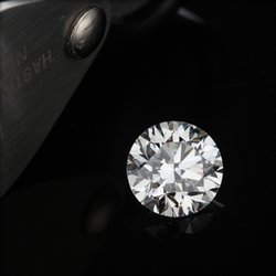 CVD Diamond 1.02ct F VVS2 Round Brilliant Cut IGI Certified Stone