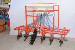 Six Row Rigid Cultivator Seed Cum Fertilizer Drill